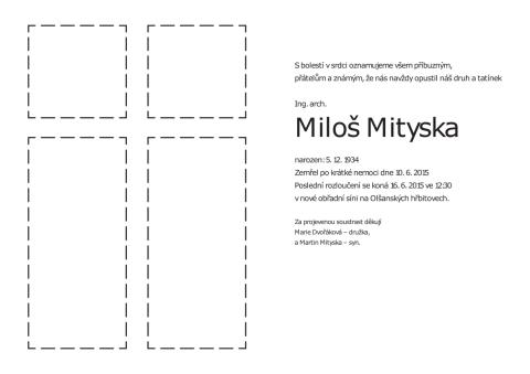 Parte - Miloš Mityska