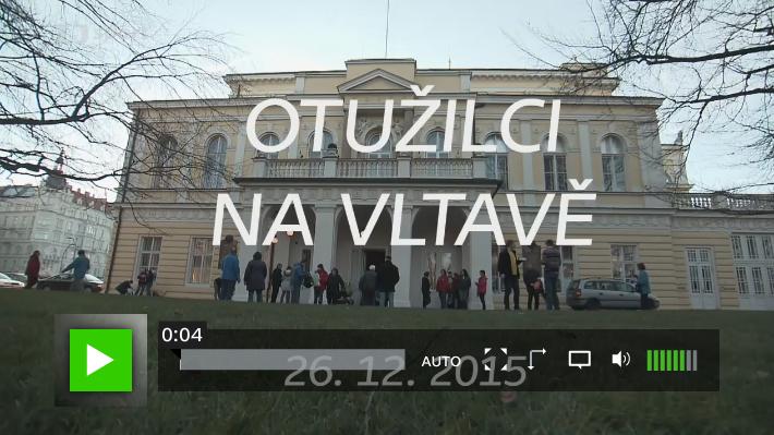 Otužilci na Vltavě 2015