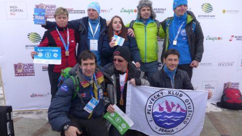 Výprava plavců z ČR na Mistrovství světa v zimním plavání 2016