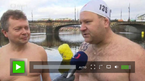 Otužilci na Vltavě 2016