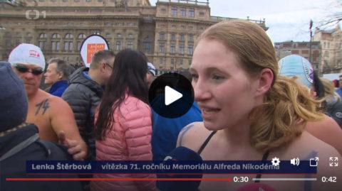 Memoriál Alfreda Nikodéma 2017 - Události ČT1, 26.12.2017/19.00, Lenka Štěrbová